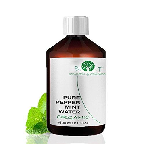 PFEFFERMINZ-WASSER, BIO, 100ML, PFEFFERMINZ-HYDROLAT (WASSERDAMPFDESTILLAT) Blumenwasserminze Organic
