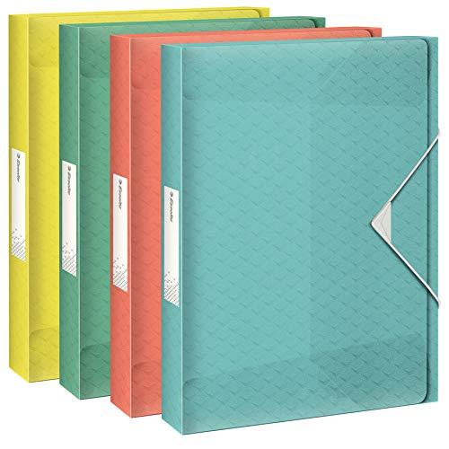 Esselte 626266colour' Ice Set di 8Scatola di archiviazione PP 40MM COLORI ASSORTITI