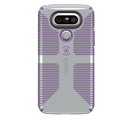 Speck Products CandyShell Grip Cell Phone Case for LG G5 - Dolphin Grey/Lilac Purple