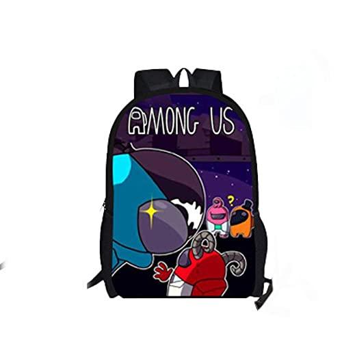 ULPUXMM 1 juego de mochilas de estilo anime con dibujos animados casuales, mochilas escolares unisex regalos