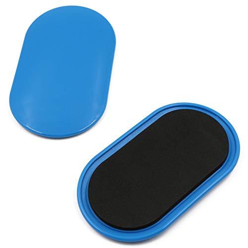 Discos de Deslizamiento Core Sliders Fitness Discos Deslizantes Ejercicios de Doble Cara...