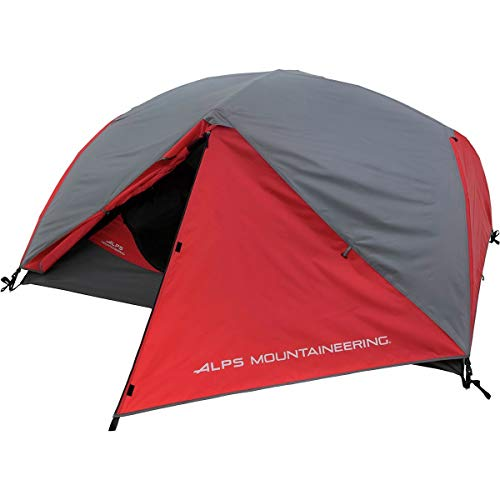 ALPS Mountaineering Phenom 2 Tent 2-Person 3-Season Red/Grey, One Size