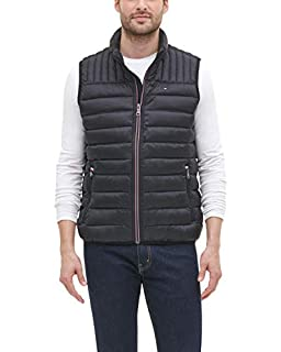 Tommy Hilfiger Men's Lightweight Ultra Loft Quilted Puffer Vest (Standard and Big & Tall), black, Large (B07GZQ4KZZ) | Amazon price tracker / tracking, Amazon price history charts, Amazon price watches, Amazon price drop alerts