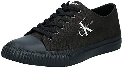 Calvin Klein Jeans Iaco Hombres Negro Zapatillas-UK 7 / EU 41