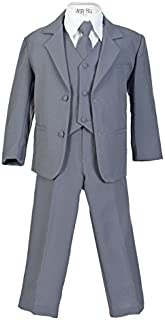 Avery Hill Boys Formal 5 Piece Suit Shirt Vest