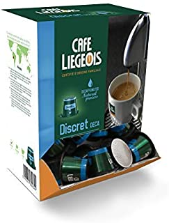 Café Liégeois Decaf Coffee Nespresso Capsules, Nespresso Compatible Coffee Capsule with all Nespresso OriginalLine Machines 50 Nespresso Decaf Coffee Pods, - DISCRET Nespresso Capsules …