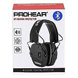 PROHEAR 030BT Bluetooth Casque de Tir Anti Bruit Coussinets d'oreille Remplaçable,SNR 27dB...
