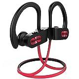 Mpow Écouteur Bluetooth Sport, IPX7 Étanche Écouteur Sans Fil,Écouteur Sport Sans Fil Basse+, CVC 6.0 Réduction du Bruit,HiFi Stéréo10H Lecteur Musique pour Course/Gym/Jogging pour IOS&Android