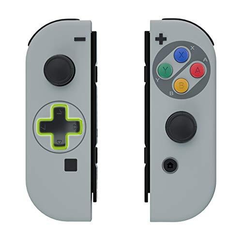 eXtremeRate Carcasa Joy-con Botones Completos D-Pad para Nintendo Switch Funda de Agarre...