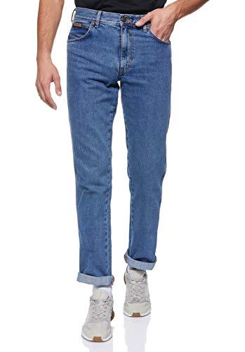 Wrangler Herren Texas Contrast' Jeans, Blau (Vintage Stonewash), 34W / 30L