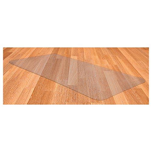 Sport-Tec Bodenschutzmatte Bodenschutz Laminat Parkett Teppich Bürostuhl 100x70 cm