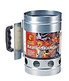 S&M Boomex 9062-6 Grillanzünder mit Sicherheitsgriff, Grau