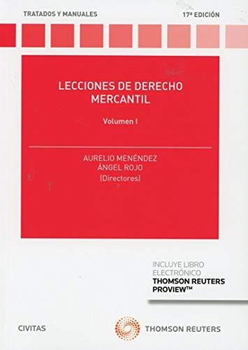 Lecciones de Derecho Mercantil Volumen I (Papel + e-book) (Tratados y Manuales de Derecho)