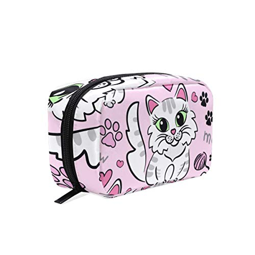 Trousse de maquillage Cat Meow Cosmetic Pouch Clutch