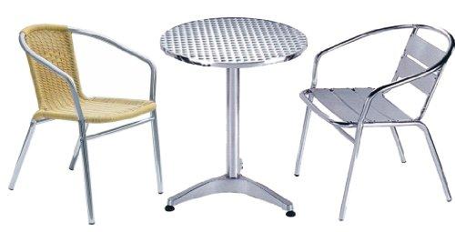 Club d'aluminium chair