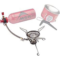 This gifts for backpackers image shows the MSR WhisperLite Universal Stove