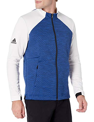 adidas Golf Cold.Rdy Jacket, Team Royal Blue Melange/White, X-Large