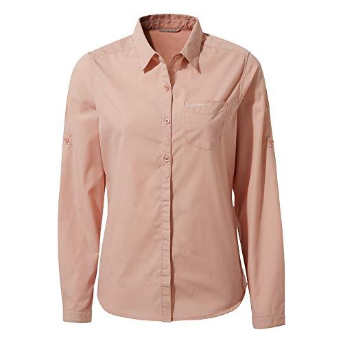 Craghoppers vrouwen Kiwi LS shirt Corsage roze 8