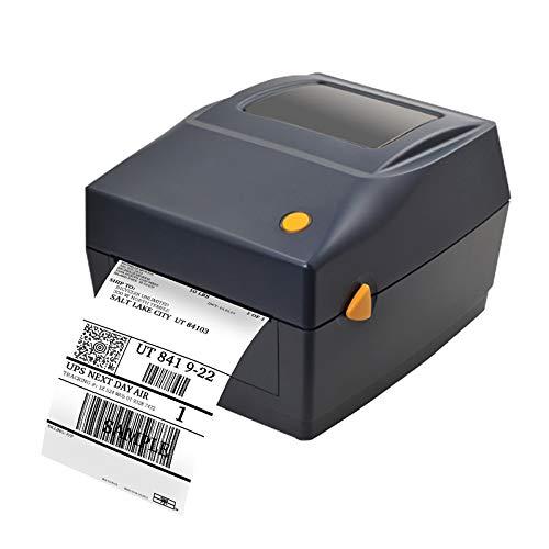 SHIJING 108 mm 4-inch thermo-barcode-etikettenprinter USB-poort etikettenprinter van de fabrikant voor leverlogistiek
