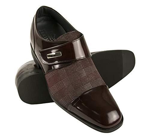 Zerimar Zapatos con Alzas Hombre| Zapatos de Hombre con Alzas Que Aumentan su Altura + 7 cm|Zapatos con Alzas para Hombres | Zapatos Hombre Vestir | Fabricados en España