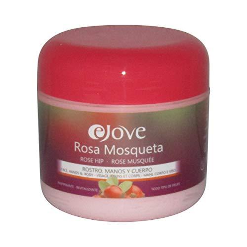 eJove Crema Rostro, Manos y Cuerpo Rosa Mosqueta, 300 ml - Aloe Vera Creme von Gran Canaria