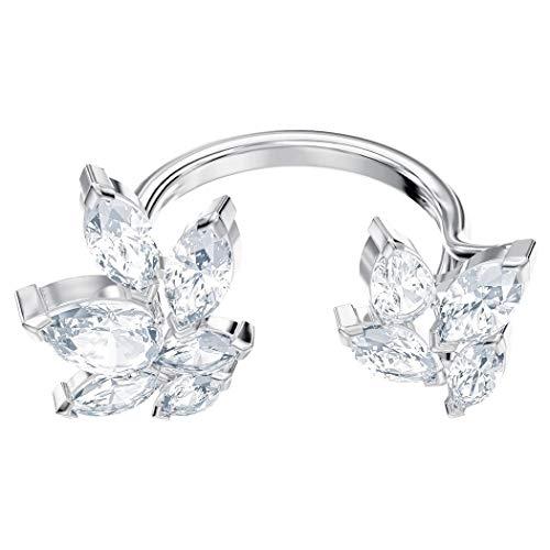 Swarovski Damen-Ringe Edelstahl Kristall '- Ringgröße 55 5372962
