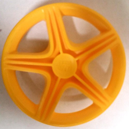BIG Llanta amarilla Porsche compatible con neumáticos anchos como Fulda o Porsche. Precio por unidad.