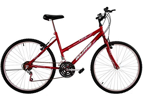 Bicicleta Aro 26 Dal'annio Bike Life Feminina 18 Marchas Vermelha