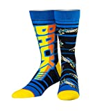 Odd Sox, Unisex, Movies, Back To The Future 88 MPH, Crew Socks, Novelty 80's