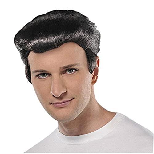 amscan 840363-55 Adults Wig-1 Pc Johnny Angel Perücke für Erwachsene, 1 Stück