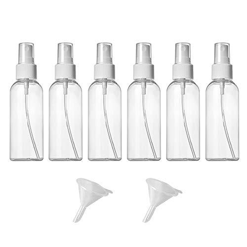 Zerstäuber Durchsichtig Leere Sprühflasche Nachfüllbar Feinen Nebel Parfümzerstäuber 50ml