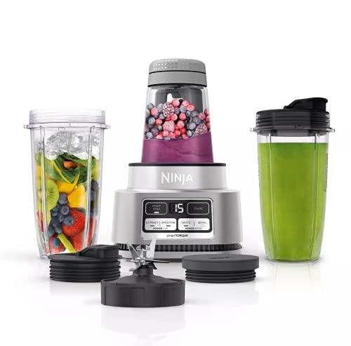 Ninja Foodi SS100 Smoothie Bowl Maker & Nutrient Extractor 1100W Blender SS101 (Renewed) (Ninja Foodi SS100)