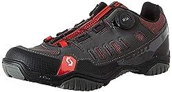 Scott Herren Sport Crus-R Boa Mountainbike Schuhe, Grau (Anthracite/Red 001), 46 EU