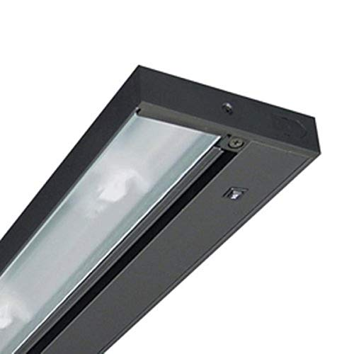 Juno Lighting Group UPX322-BL Xenon Under Cabinet Fixture, 60 Watts, 22 Inch, Black
