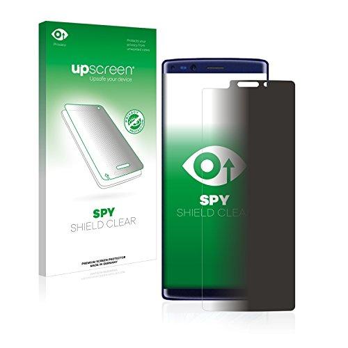 upscreen Anti-Spy Blickschutzfolie kompatibel mit Doogee Mix 2 Privacy Screen Sichtschutz Bildschirmschutz-Folie