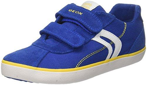 Geox J Kilwi Boy I, Zapatillas Niños, Azul (Royal/Lime), 34 Eu