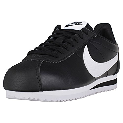 Nike Wmns Classic Cortez Leather, Scarpe Running Donna, Nero (Black/White/Black 016), 38 EU