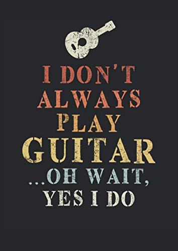 Gitarrentabulatur: 120 Blanko Gitarren Tabs Vorlagen | A4 | elegantes Softcover | mit xx Motiv | mit Akkorddiagrammen und 6-Linien Tabulatur | übersichtlich und einfach