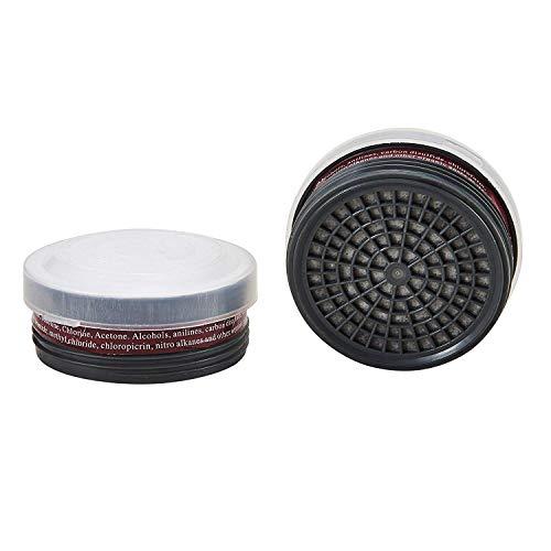 OHMOTOR Atemschutzfilter für Vollmaske (LDY3 Filter 1 Paar)
