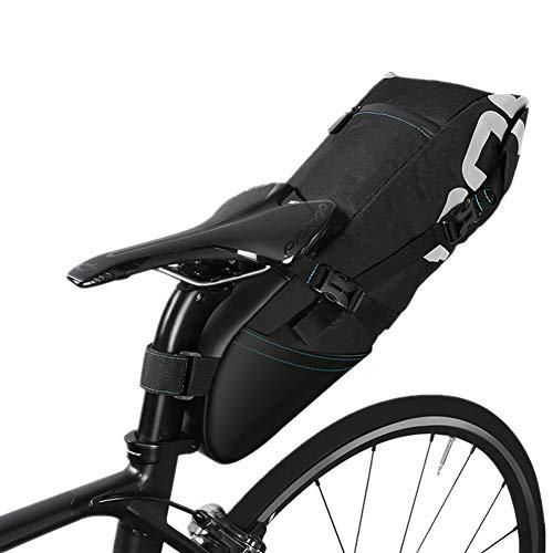 Sacoche Arriere Velo Sacoche Velo Femme Accessoires de Vélo De Montagne Cyclisme Accessoires Vélo Sacs pour Arrière Topeak Selle Sac Vélo Accessoires Black,10l