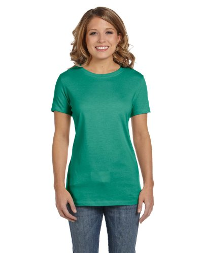 Bella Canvas Ladies' Jersey Short-Sleeve T-Shirt - JADE - M