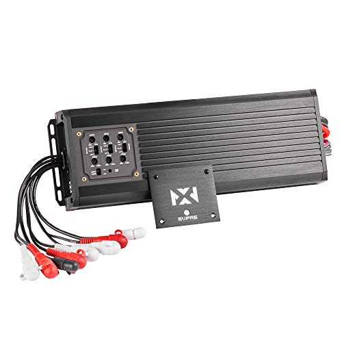 NVX MVPA6 Marine-V Series 6-Channel Bridgeable Micro Class D Compact Car Amplifier | 900W Total RMS