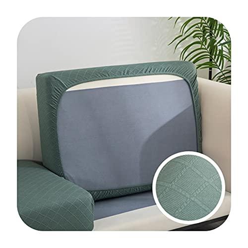 Funda de cojín de sofá gruesa jacquard para sofá esquinero Funiture protector de asiento funda elástica color sólido funda de sofá 4-XXL