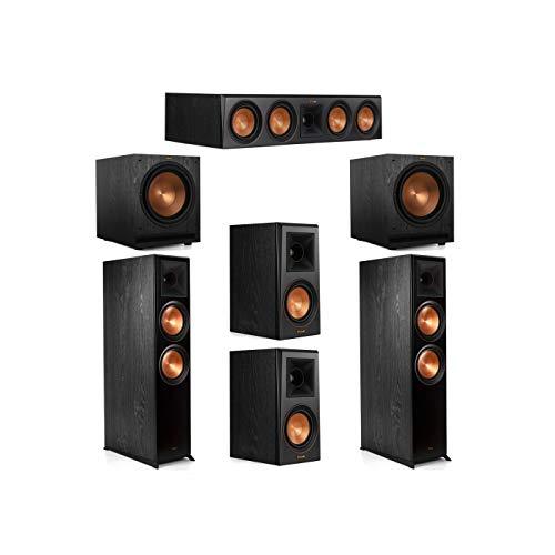 For Sale! Klipsch 5.2 System with 2 RP-8000F Floorstanding Speakers, 1 Klipsch RP-504C Center Speake...