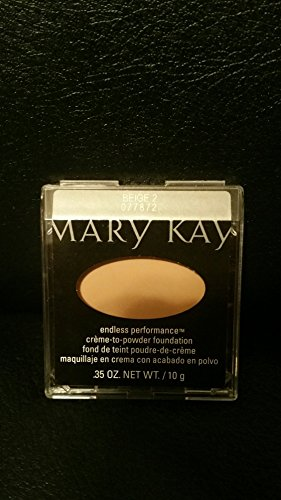 Mary Kay Endless Performance Creme to Powder Foundation~Beige 2