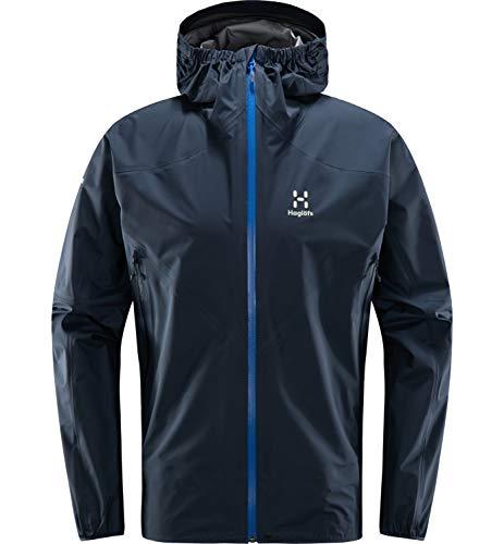 Haglöfs Regenjacke Herren L.I.M Comp Jacket wasserdicht, Winddicht, atmungsaktiv Tarn Blue XL XL