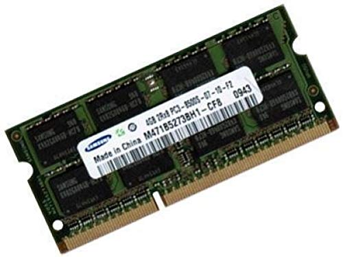 Samsung 4 GB, 204 pin, DDR3-1066, PC3-8500, SO-DIMM