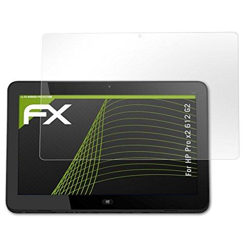 atFolix Bildschirmfolie kompatibel mit HP Pro x2 612 G2 Spiegelfolie, Spiegeleffekt FX Schutzfolie
