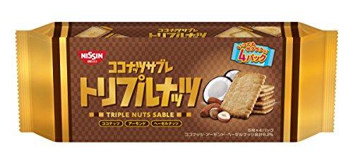 日清シスコ ココナッツサブレ(トリプルナッツ) 20枚×12袋