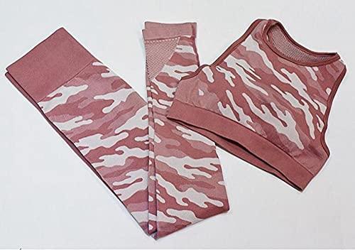 ArcherWlh Yoga Pants,Pantalones de Yoga para Mujeres Leggings Top Jeans STRETE Jogger-Pasta de Frijol Rojo_L